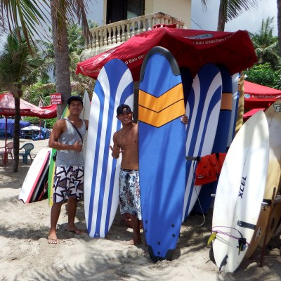 Our new surfboards