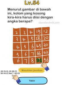 Brain Out Level 103 Indonesia : brain, level, indonesia, Jawaban, Brain, Tuliskan, Angka, Sampai