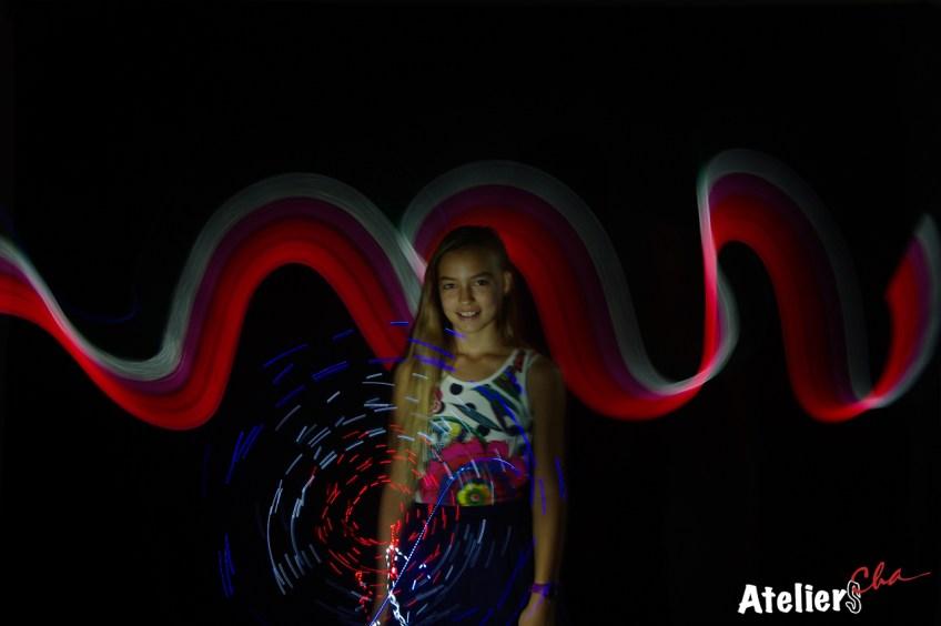 Fête de la Science à Juan-les-pins - SLV Portrait Light