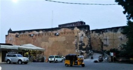 Image of The Fort Jesus in Mombasa