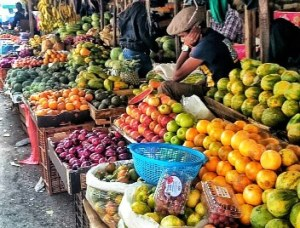 Image of fruitstall in Nairobi