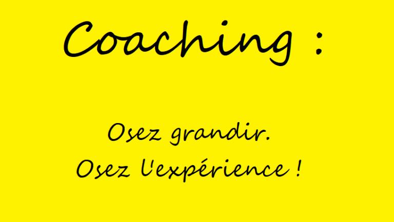Qu'est ce que le coaching ?