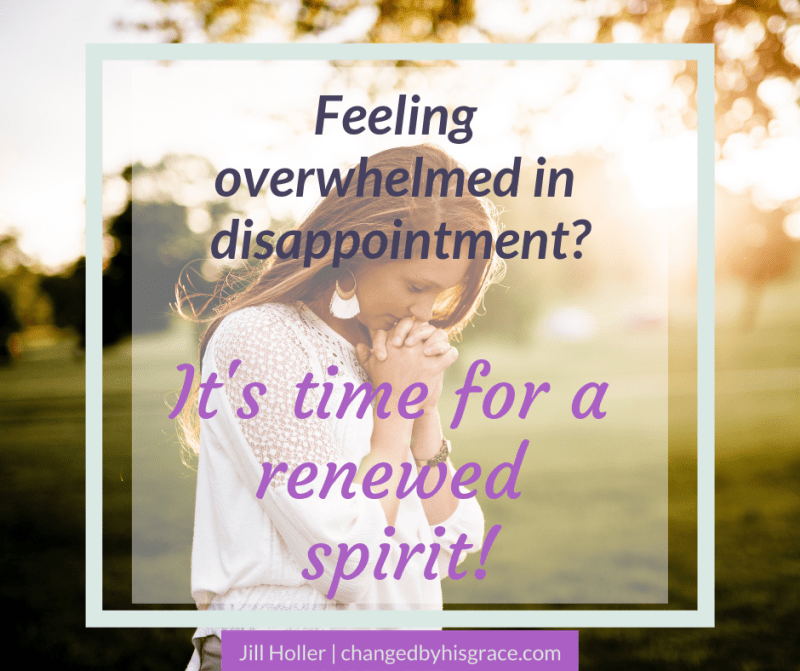 Praising God in Times of Disappointment