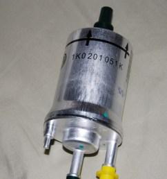 6 6 bar fuel filter part number 1k0 201 051 k [ 1549 x 1037 Pixel ]