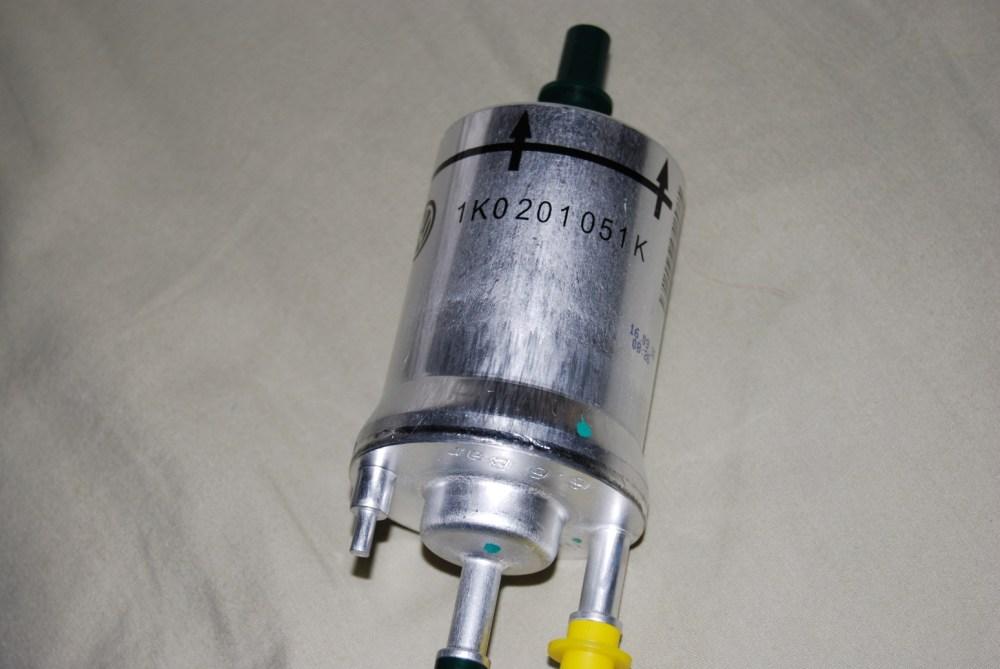 medium resolution of 6 6 bar fuel filter part number 1k0 201 051 k