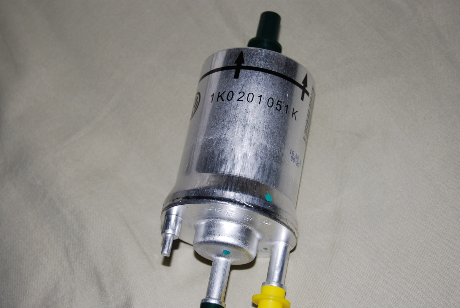 hight resolution of 6 6 bar fuel filter part number 1k0 201 051 k