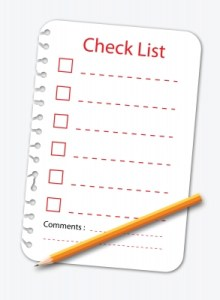 Self-Editing Checklist for Fiction Writers