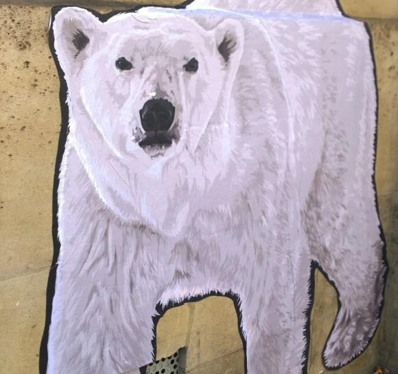 Ours polaire, Place du Panthéon, COP21