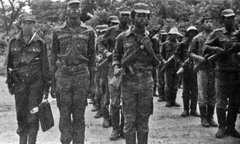 MK SOLDIERS AT MALANGE CAMP