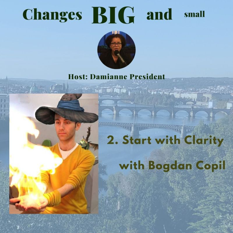 2 Changes Big and Small Bogdan Copil Podcast Cover Art