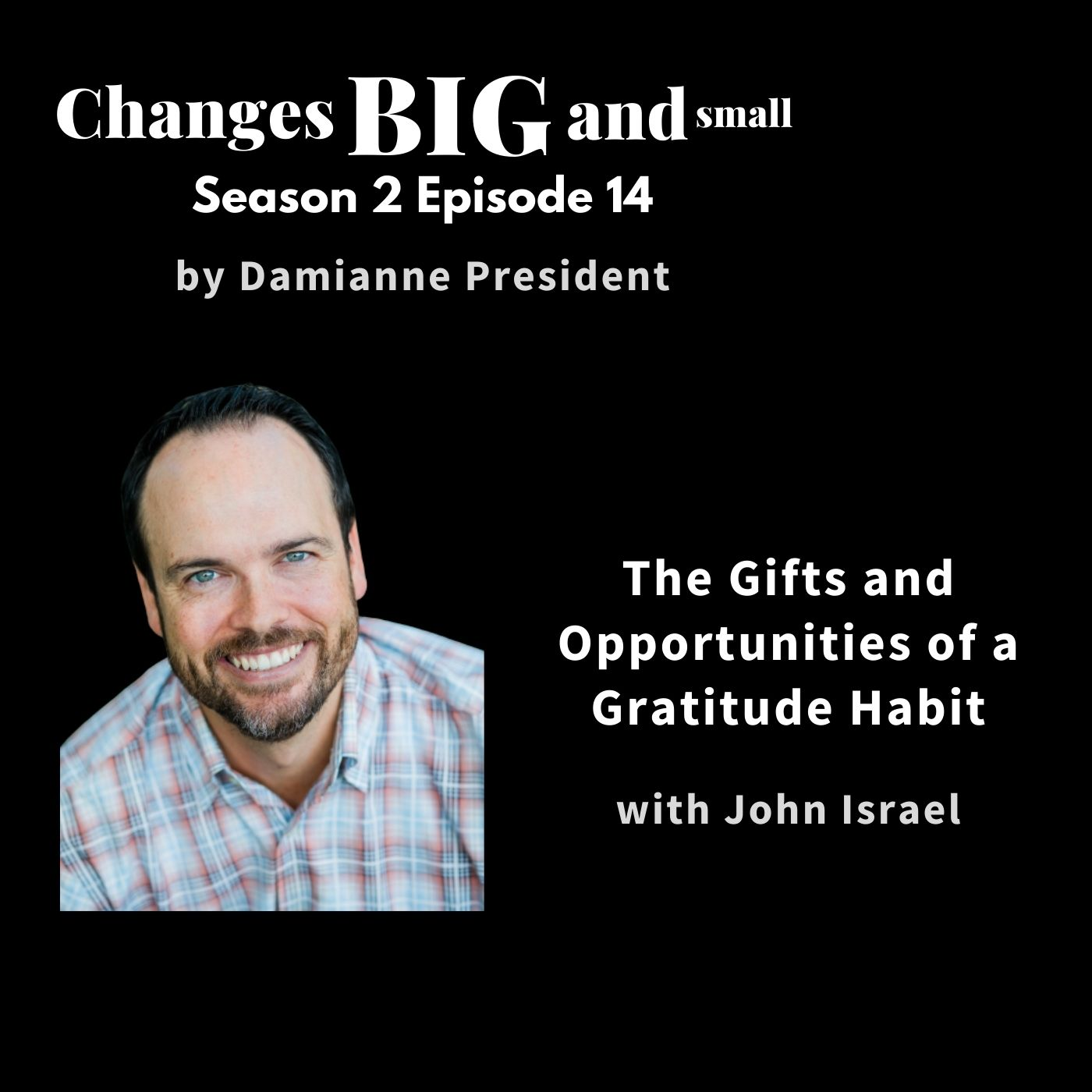 cover art of John Israel on Changes BIG and small