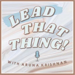 lead that thing podcast cover art