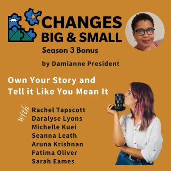 Own Your Story and Tell it Like You Mean It CBaS episode cover art