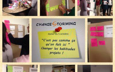 Atelier ChangeStorming – C'est pas comme ça qu'on fait ici !