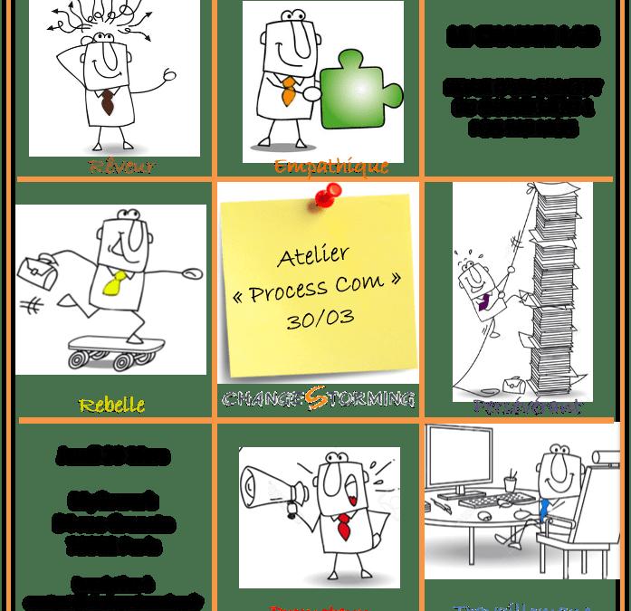 Atelier Changestorming du 30/03 : Comment utiliser la Process Communication dans les projets de changement !