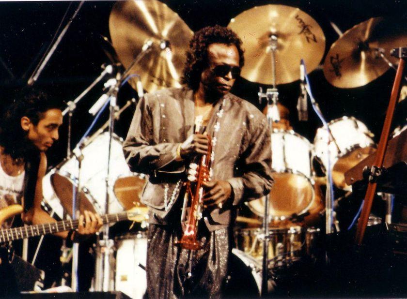 miles davis, gutarist and drummer