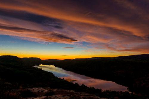 Lake of the Clouds at Dawn