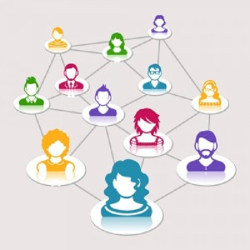 social community engagement as diverse connected avatars