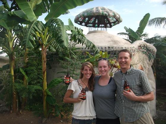 Reunited with Aimee Gaines at Haiti Communitere in Port-au-Prince
