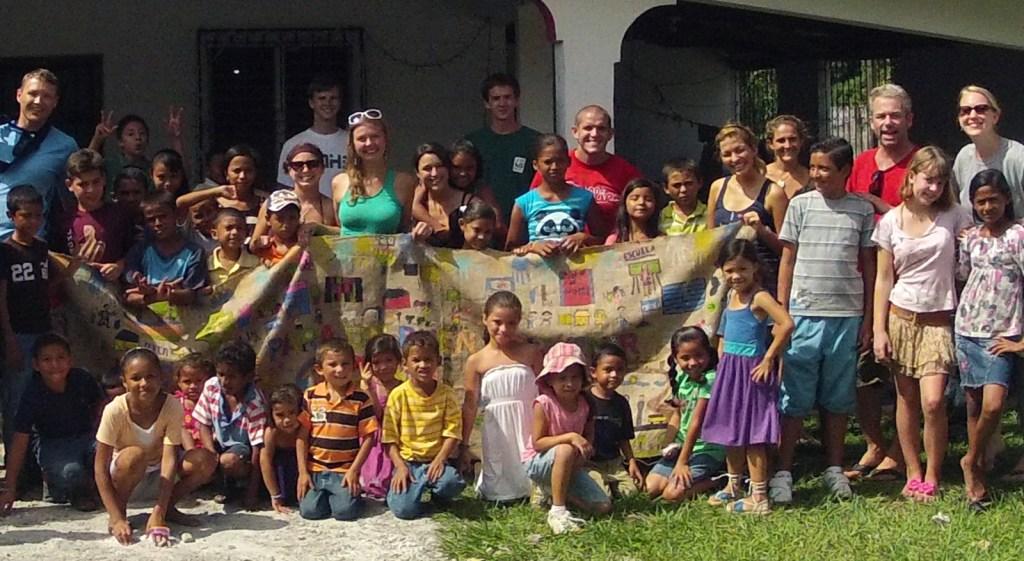Mural Project Honduras Children's Alliance