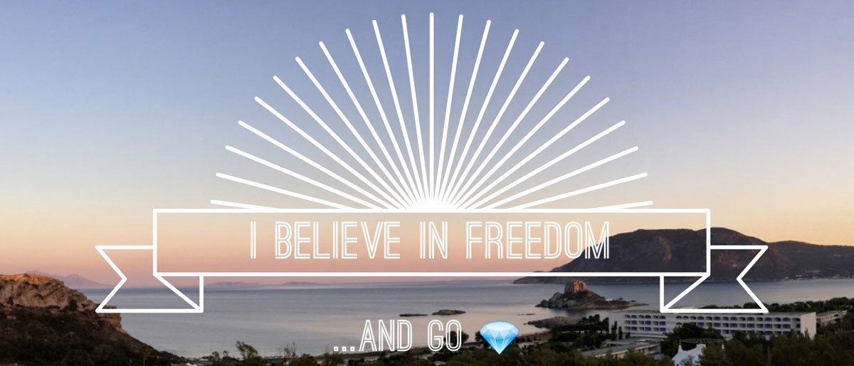 Permalink to: [:en]Freedom the magic word we believe in [:it]I Believe in Freedom[:]