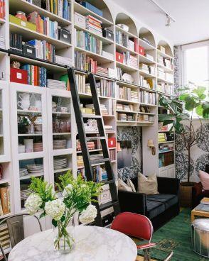 Ikea bookshelf from cup of jo