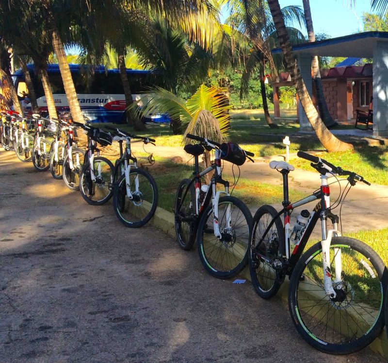 Biking and traveling with friends