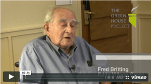 Portrait of a green house elder