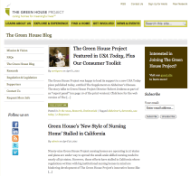 Green House Project Blog