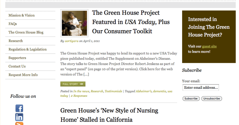 The Green House Project Welcomes Lisa Maxwell as Project Guide