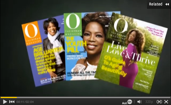 O Magazine Anti-Aging covers