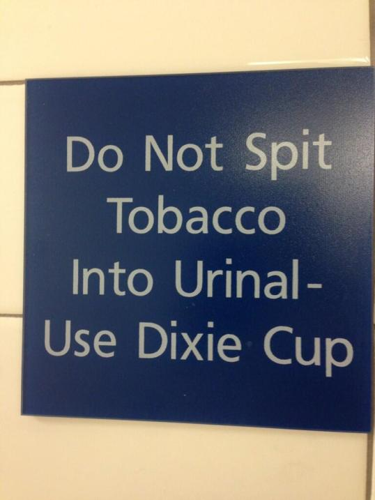 tobacco-urinal