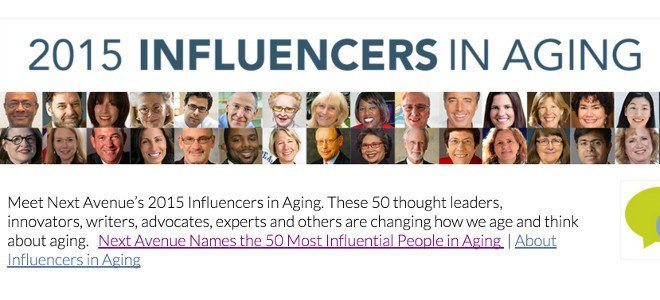 Dr. Bill Thomas named Top Influencer in Aging