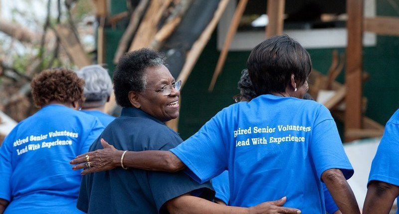 Texas Disaster Relief Effort Partners With Elder RV Owners