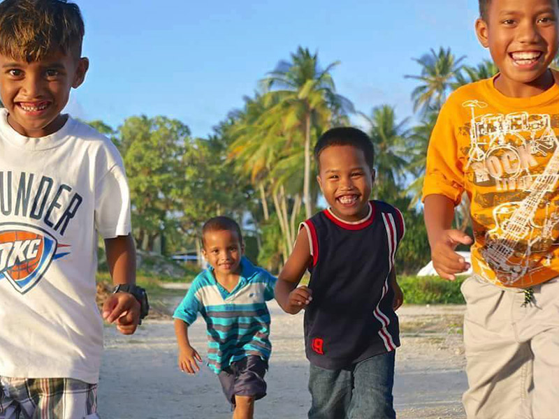Marshallese children