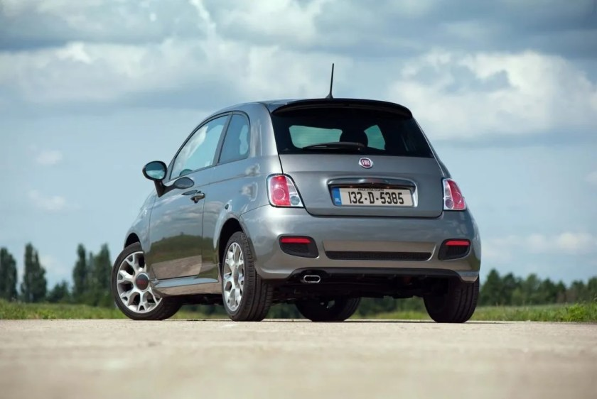 The Fiat 500S is a fun and sporty small car
