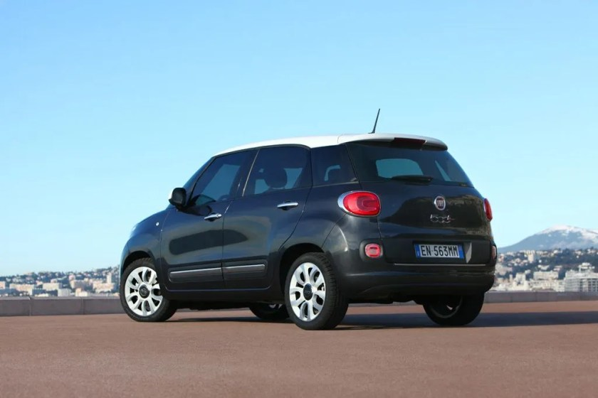The 500L is a new MPV from Fiat