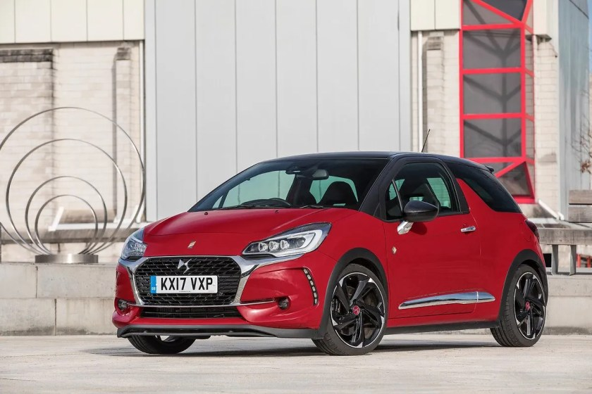The DS3 supermini, which was badged as a Citroen when first launched