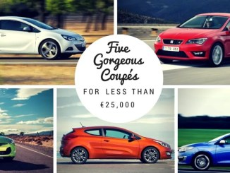 five gorgeous coupes for less than 25000 euro