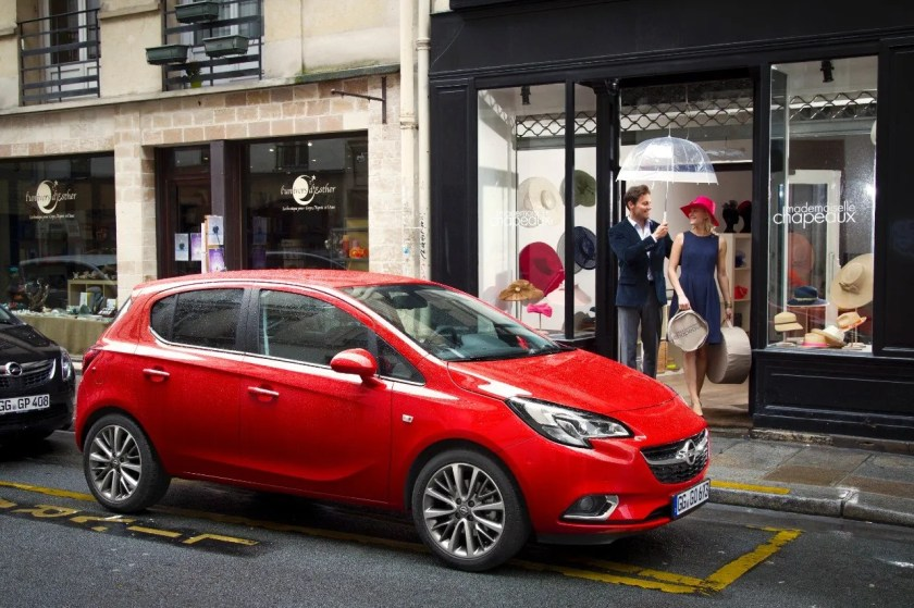The Opel Corsa 2014 model