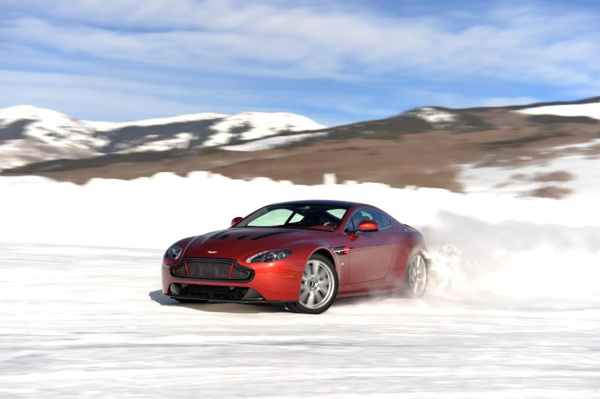 Aston Martin is a favourite of James Bond