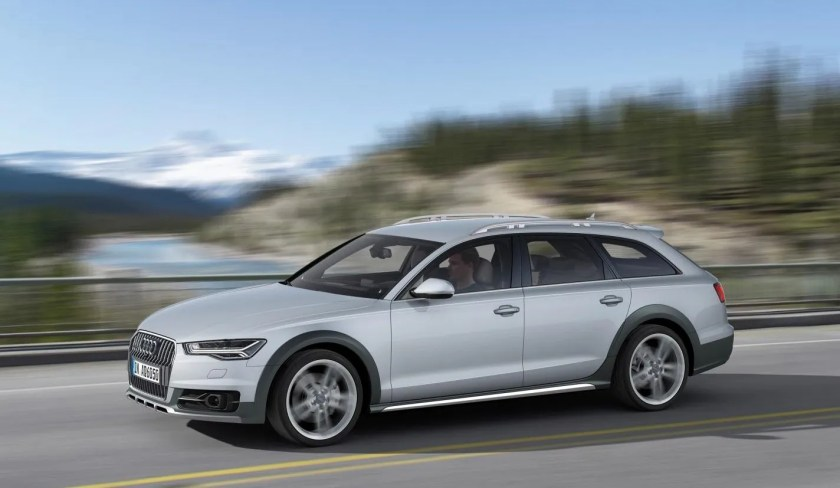 The Audi A6 allroad id great for winter driving in Ireland!