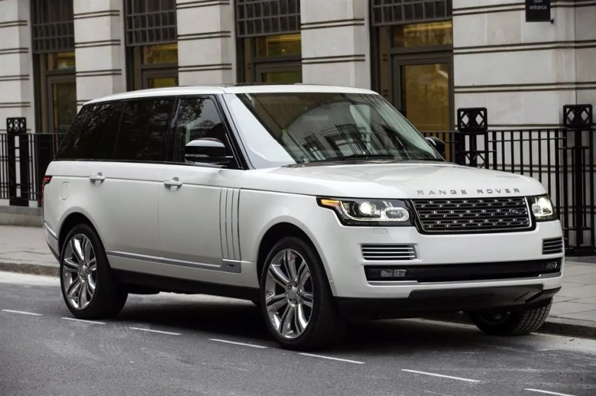 Range Rover: It's how I roll!