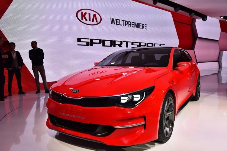 The Kia Sportspace concept one of the stars of 2015 Geneva Motor Show