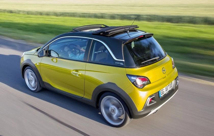 The Opel Adam Rocks is a fantastic small car!