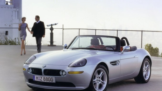 Why The Bmw Z8 Is Cool Changing Lanes