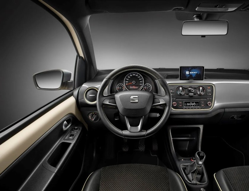 Inside the new SEAT Mii by Mango