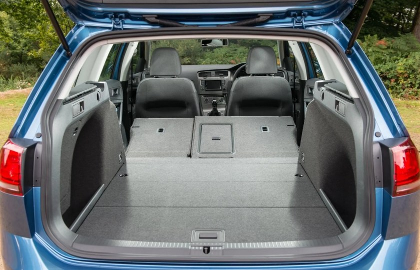 The Golf Estate has a very practical boot