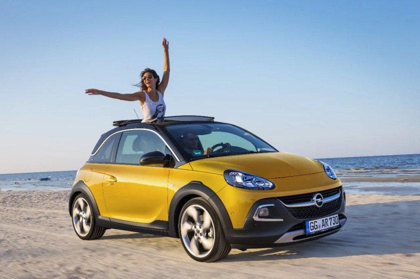 The Opel Adam Rocks!