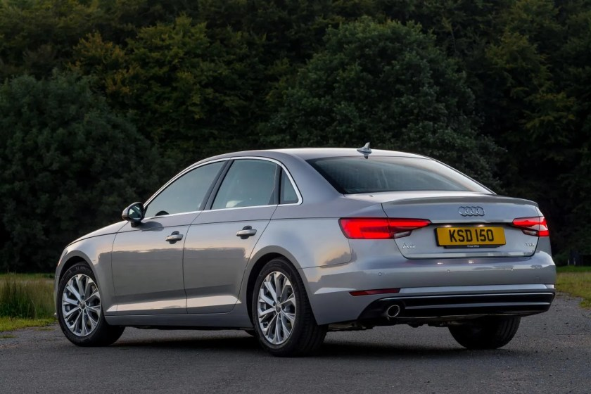 The Audi A4 is a fantastic large fleet car